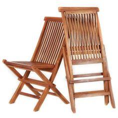 TEAK Folding Chair Special Price Combo Set (2 per box) - Rakuten.com $129 plus $79 shipping for 2.