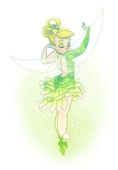 Tinker Bell by DoodleLust