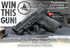 Enter for your chance to win the Performance Center® Ported M&P®9 SHIELD™ with Trijicon Tritium Night Sights Sweepstakes.