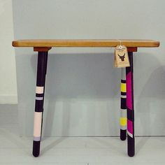 Stool by Sludgework Designs Craft Sale, Stool, Desk, Crafts, Furniture, Home Decor, Desktop, Manualidades, Decoration Home