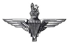Parachute regiment cap badge Military Insignia, Military Art, Military History, British Army Regiments, Tank Tattoo, Parachute Regiment, Army Hat, British Armed Forces, Royal Marines