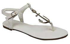 Nautical Anchor Flip-flop Sandal Flat Thongs White Fourever Funky http://www.amazon.com/dp/B00RUE27TG/ref=cm_sw_r_pi_dp_PaWbvb059ZYM7