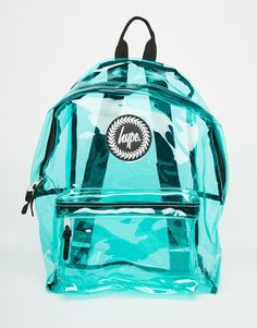 Image 1 of Hype Backpack in Green Perspex