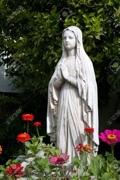 mary lawn statues - Google Search