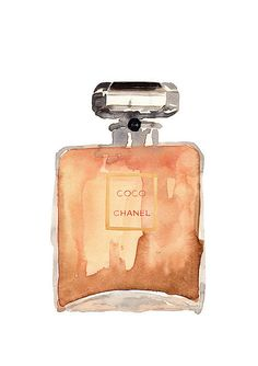 chanel water color