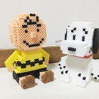 立体アイロンビーズ。|ふじた・だのいち・チャッキーのアイロンビーズ工房 Cute Crafts, Bead Crafts, Diy And Crafts, 3d Perler Bead, Pearler Beads, Hama Beads Patterns, Beading Patterns, Pixel Art, Art Perle