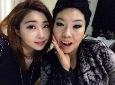 Minzy with mum