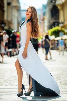 The Beauty Pageant Hungary Reality  Dress: TiCCi Rockabilly Clothing Hair: Békési Zita Beauty Salon Fodrász Dió - Kucsera Hajszalon Makeup: Pásztor Krisztina profi sminkes Photo: Adam Bertalan sailor bride pinup bride sailor wedding dress