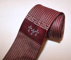 VTG 50's 60's / Mens Skinny Tie / California by CicelysCloset