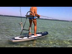 SUP fishing- Catching Redfish on a Bote Board Paddleboard