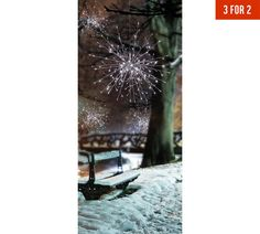 22eef03ef87f Buy Premier Decorations 1.2m LED Sparkle Ball Lights - White at Argos.co.
