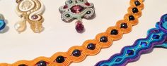 Be creative with a custom made soutache jewelry! Description from victoriasorkin.com. I searched for this on bing.com/images