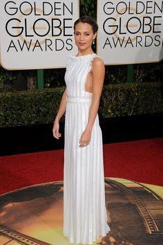 Alicia Vikander | The Golden Globe Awards, January 2016.