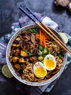 20 Healthy Ramen Recipes That Are Delicious and Delightful | If ramen makes you think of cheap, MSG-laden bowls of blah, then you need to check out these healthy ramen recipes...