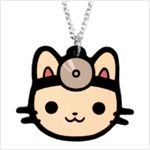 Doctor Cat necklace