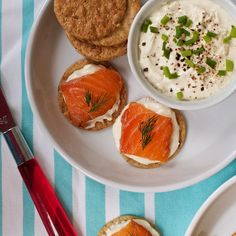 Norwegian farmed salmon & gravlax recipe with mustard sauce by Marla Meridith. Norway fishing town cultures & traditions. Christmas holiday appetizer.
