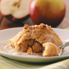 Baked Apple Dumplings Recipe from Taste of Home -- shared by Evangeline Bradford of Erlanger, Kentucky