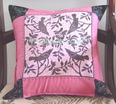 Shabby Chic Pillow French Boudoir Chic  Artists by VintageUpcycled, $50.00 With my original linocut-hand printed to the fabric!