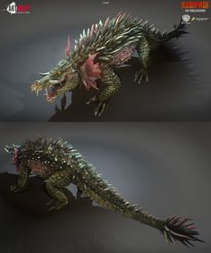 Art Bully Productions was tasked by Trigger to create models, rigs, and animations for Rampage AR Unleashed. It's an Augmented reality app based on the new film Rampage. Fantasy Monster, Monster Art, Monster Hunter, Creature Concept Art, Creature Design, Mythological Creatures, Fantasy Creatures, Rampage Movie, Aliens