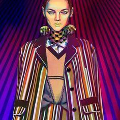 Illustration.Files: Prada S/S 2016 Fashion Illustration by Efrosinya Anisenkova