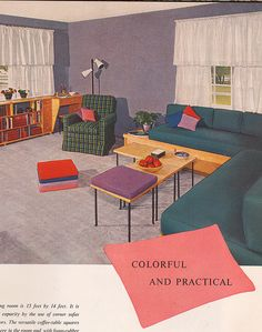 1954 LH Journal decorating book by Mad Modern, via Flickr
