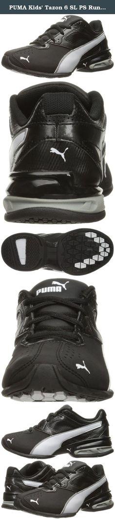 57fa43c956c54f PUMA Kids  Tazon 6 SL PS Running Shoe
