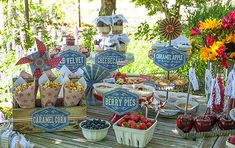 Vintage Style Fouth of July Party Kit by LiaGriffith on Etsy, $15.00