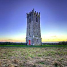 Tower at Carton House demesne Maynooth, county Kildare Ireland