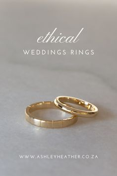 Your wedding rings should be as unique as your love story. Custom handmade wedding rings in gold recycled from discarded electronics. Throwing a sustainable, zero-waste, and ethical wedding does not have to feel daunting. A great place to start is with eco-friendly gold wedding rings. Organic, rustic and  minimalist wedding bands to suit your style.  #ethicaljewelry #weddingring #engagementring #everydayring #myethicaldreamring