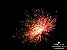 """""""Keine Lotusblüte sondern ein Feuerwerk zu Silvester :)""""  © Michaela Brugger"""