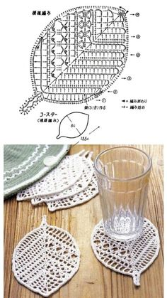 Crochet Booties - Crochet: Guantes sin dedos o Mitones # 3 Crochet: Guantes sin dedos o Mitones # 3 Crochet Leaf Patterns, Crochet Leaves, Crochet Motifs, Crochet Art, Thread Crochet, Irish Crochet, Crochet Designs, Crochet Crafts, Crochet Doilies