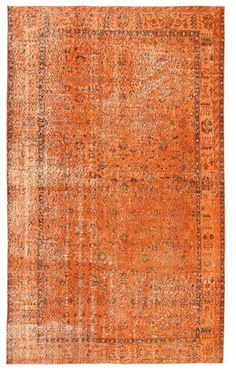 Colored Vintage XCGY1082 carpet from Turkey