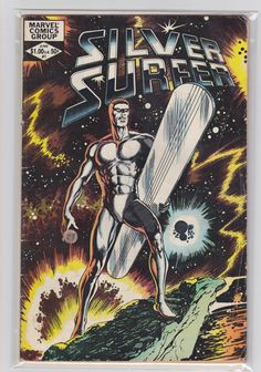 Comic Silver Surfer 1 MARVEL COMICS 1982 by FeedYourGeekShop