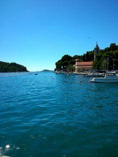 its so blue this place! Cavtat-Croatia