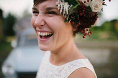 Idée pour un mariage simple et convivial en automne - © Sandrine Bonnin