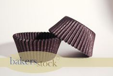 Mini Brown Cupcake Liners - 525 Count