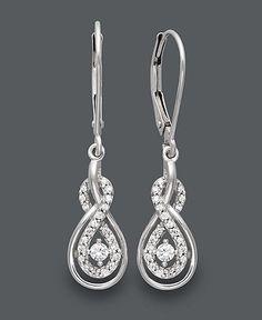 Wrapped in Love™ Diamond Earrings,