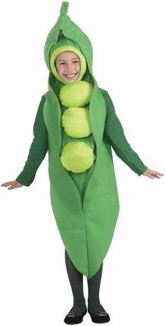 Peas Child Costume