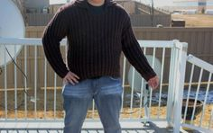 100% Natural Super soft wool HANDMADE Knitted Sweater with Collar/ Unisex/ will fit size M to 2X Large, Ready to shipped Today by ufer on Etsy