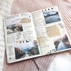 Me gusta, 17 comentarios – bullet journal inspiration.j… – Travel Bullet Journal Inspo, Bullet Journal Aesthetic, Bullet Journal Ideas Pages, Bullet Journal Spread, Journal Pages, Bullet Journals, Bullet Journal Travel, Journal Notebook, Scrapbook Journal