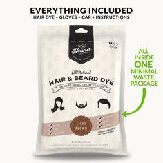 Light Brown Henna Hair Dye – Henna Color Lab® – Henna Hair Dye