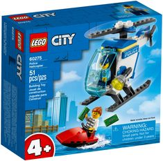 Lego City Police Sets, Lego City Police Helicopter, Jet Ski, Construction Lego, Free Lego, Lego System, All Lego, Lego Toys, Simple Prints