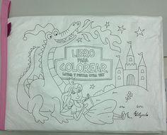 Libro de Princesas para pintar y lavar
