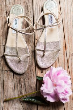Jimmy Choo sandals: http://www.stylemepretty.com/little-black-book-blog/2015/01/15/romantic-germany-barn-wedding/ | Photography: Ashley Ludaescher - http://ashleyludaescher.com/