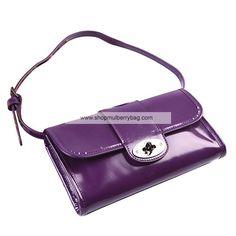 89d3993c36 Mulberry Women s Daria Patent Leather Belt Bag Purple