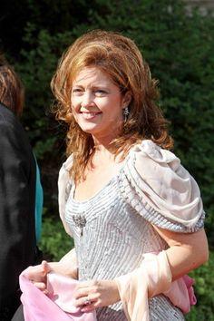 Princess Alexia at the wedding of Princess Nathalie of Sayn-Wittgenstein-Berleburg and Alexander Johannsmann in 2011.