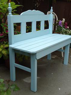 SOLD - Charming Garden Bench