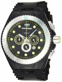 TechnoMarine Men's 109051 Cruise Phospho Chrono Green and Yellow WatchSet TechnoMarine. $256.50. Precise Japanese Miyota FS23 Quartz movement. Date function at 4:00 position. Comes with Black, Yellow, and Green Phosphorescent Covers and Straps. Chronograph functions with 24-hour, 60-minute, 1/20th second subdials. Water-resistant to 660 feet (200 M)