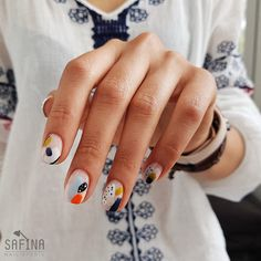 Looking for easy nail art ideas for short nails? Look no further here are are quick and easy nail art ideas for short nails. Minimalist Nails, Popular Nail Designs, Nail Art Designs, Cute Nails, Pretty Nails, Hair And Nails, My Nails, Beauty Nail, Modern Nails