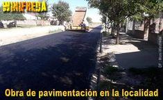 Avanza pavimentación de 14 cuadras en Winifreda